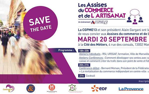 Les Assises du commerce, Cité des Métiers 20 septembre 2016