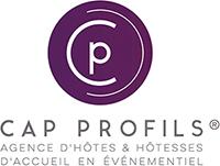 logo Cap Profils - Agence d'ôtes et hôtesses d'accueil en événementiel