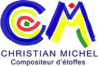 logo Christian Michel - Compositeur d'étoffes