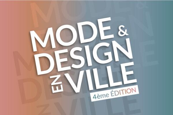 logo Mode et Design en ville 4ème édition, Palais de la Bourse, 19 avril 2018