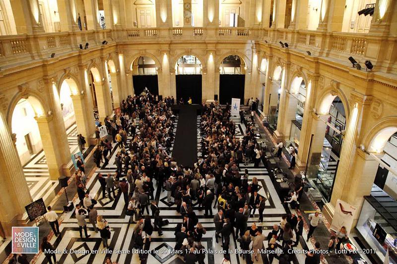 Mode et Design en ville 3ème édition - Palais de la Bourse - 2017