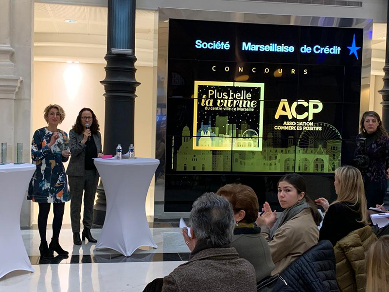 ACP remise des prix Plus belle la vitrine