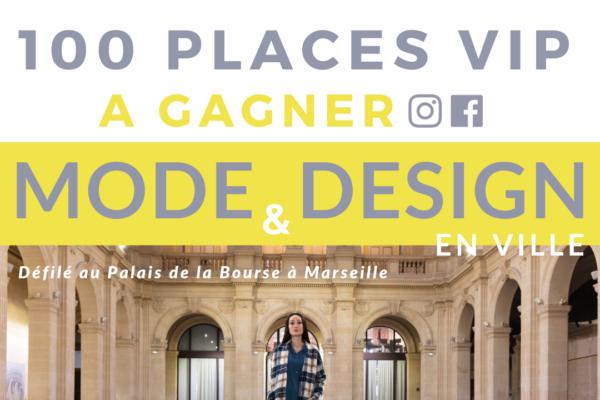 Jeu Concours pour le Défilé Mode et Design en Ville 2021